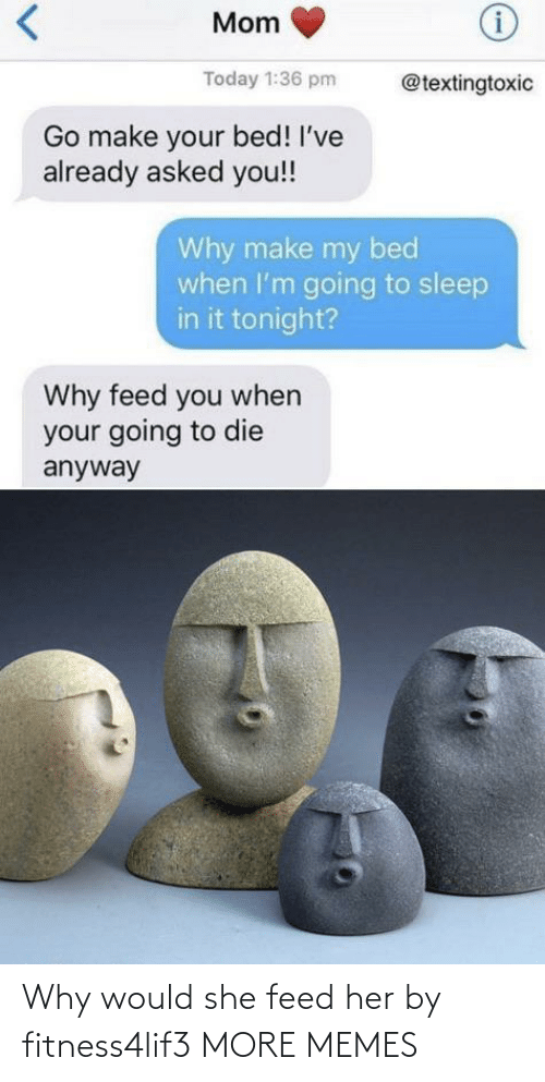 Feed: Why would she feed her by fitness4lif3 MORE MEMES