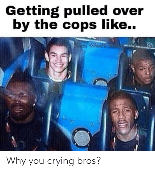 Crying: Why you crying bros?