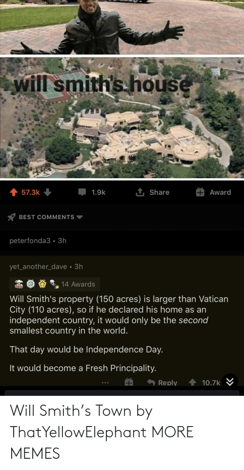 Will Smith: Will Smith's Town by ThatYellowElephant MORE MEMES