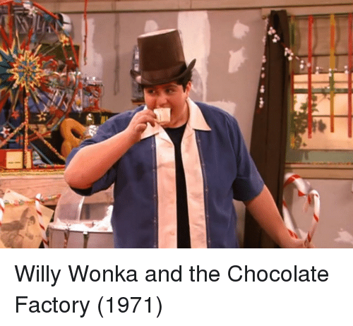 chocolate factory: Willy Wonka and the Chocolate Factory (1971)
