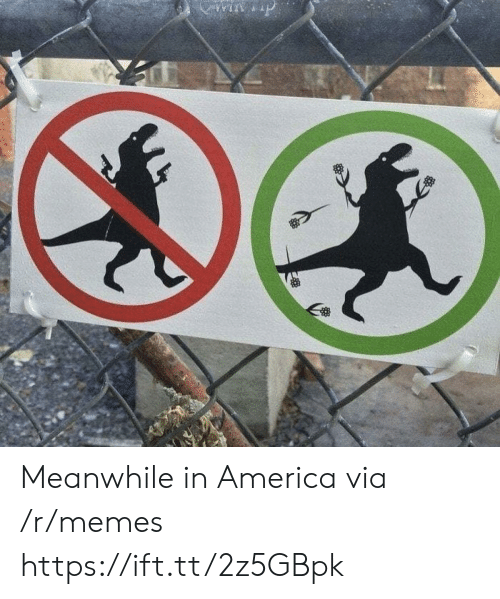 America, Memes, and Via: win p Meanwhile in America via /r/memes https://ift.tt/2z5GBpk