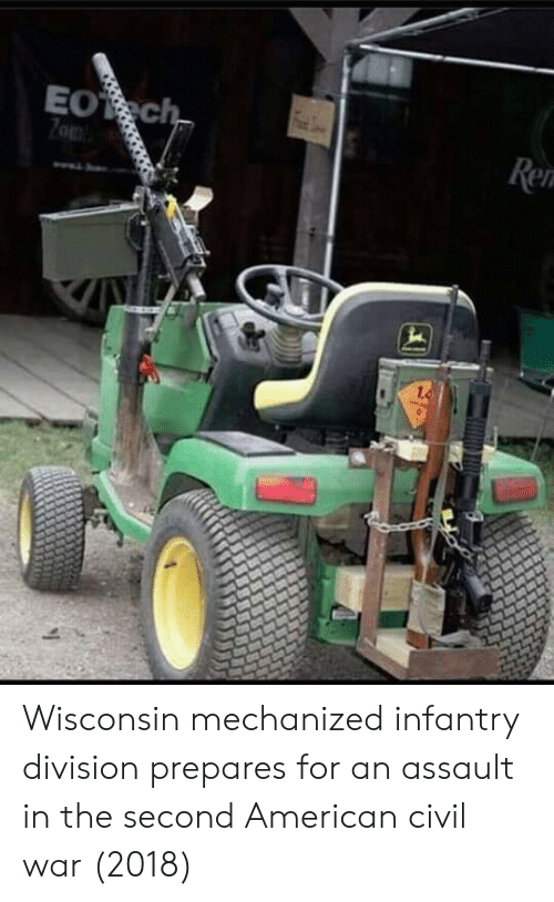 Civil War: Wisconsin mechanized infantry division prepares for an assault in the second American civil war (2018)
