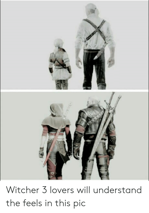 witcher 3: Witcher 3 lovers will understand the feels in this pic
