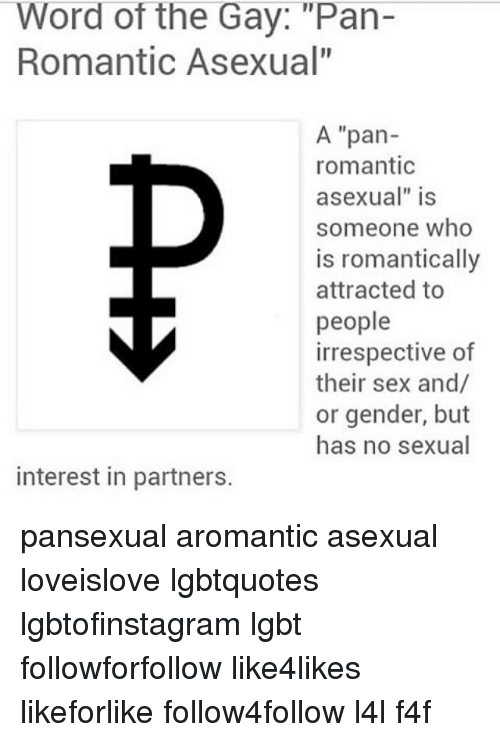 Definition pansexual asexual