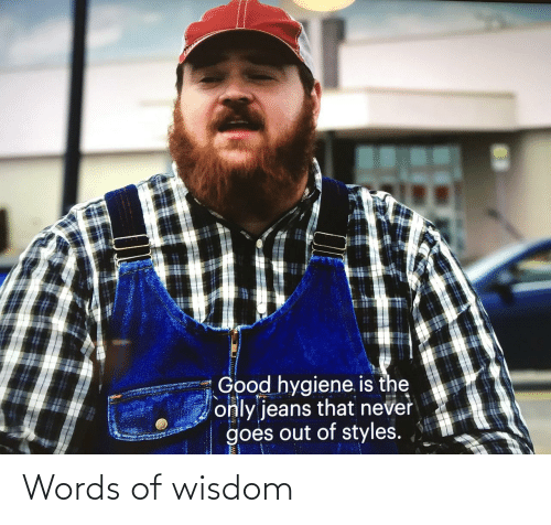 Wisdom: Words of wisdom