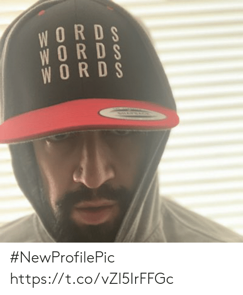 Memes, 🤖, and Words: WORDS  WORDS  WORDS #NewProfilePic https://t.co/vZl5IrFFGc