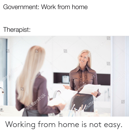 Home Is: Working from home is not easy.