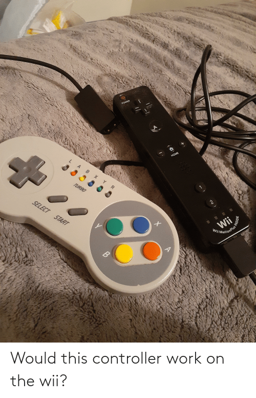 wii: Would this controller work on the wii?