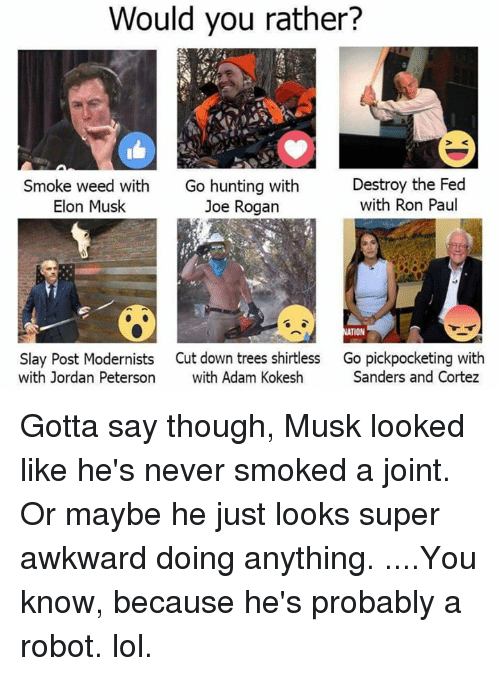 what is it like to smoke pot