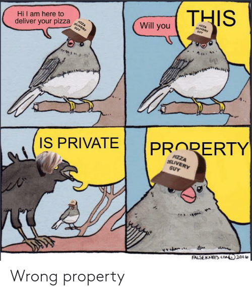 Property: Wrong property