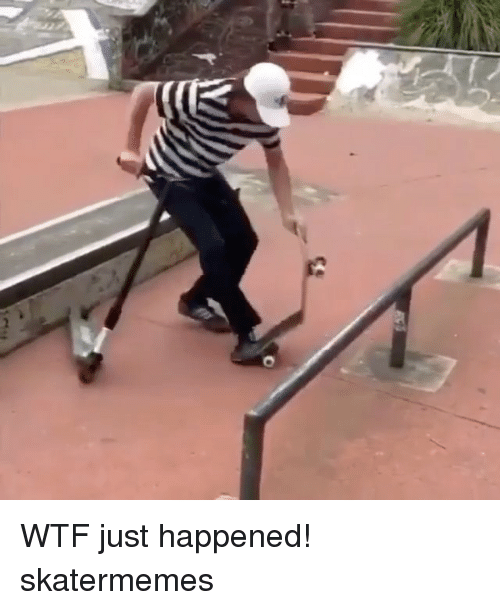 wtf just happened: WTF just happened! skatermemes