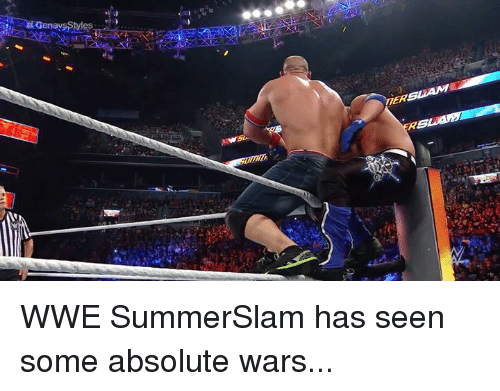 World Wrestling Entertainment, Wars, and Summerslam: WWE SummerSlam has seen some absolute wars...