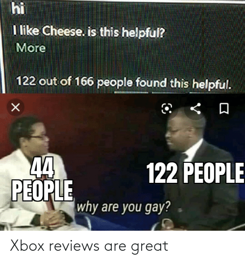 Xbox: Xbox reviews are great