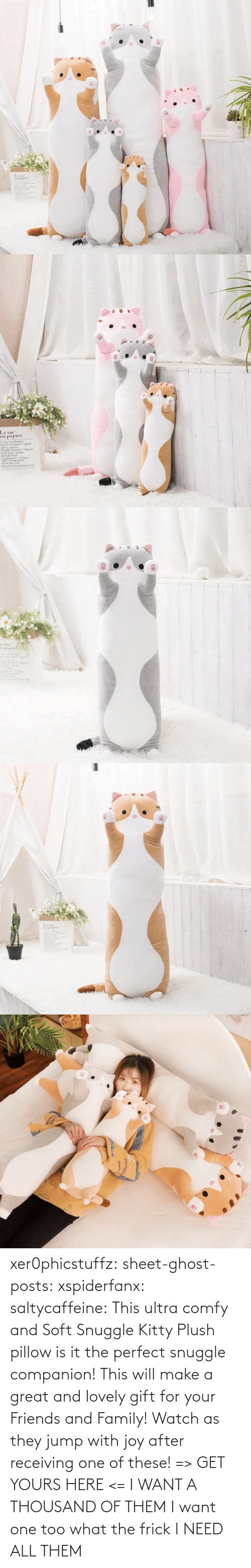 Is It: xer0phicstuffz:  sheet-ghost-posts: xspiderfanx:  saltycaffeine:  This ultra comfy and Soft Snuggle Kitty Plush pillow is it the perfect snuggle companion! This will make a great and lovely gift for your Friends and Family! Watch as they jump with joy after receiving one of these! => GET YOURS HERE <=    I WANT A THOUSAND OF THEM  I want one too what the frick    I NEED ALL THEM