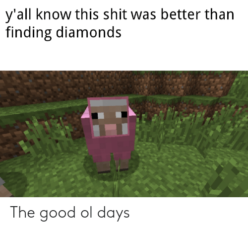 Reddit, Shit, and Good: y'all know this shit was better than  finding diamonds The good ol days