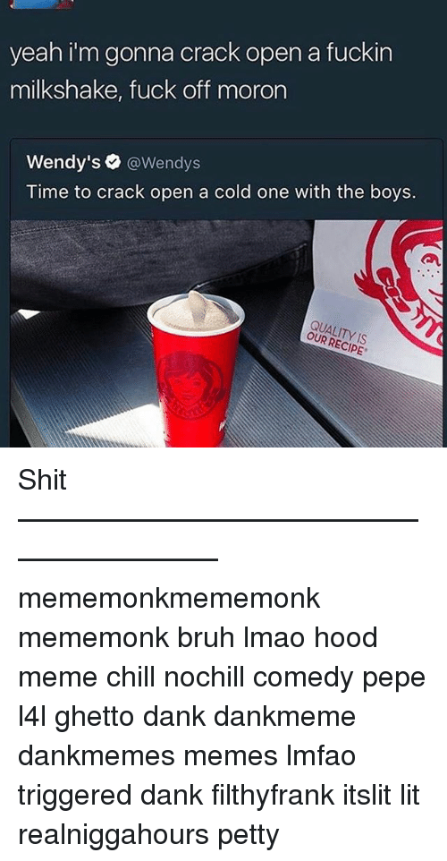 time to crack open a cold one meme