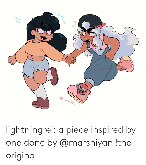 InuYasha: yhtning/a lightningrei:  a piece inspired by one done by @marshiyan!!the original