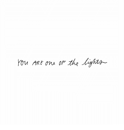 ons: You ARE ons or the ghts