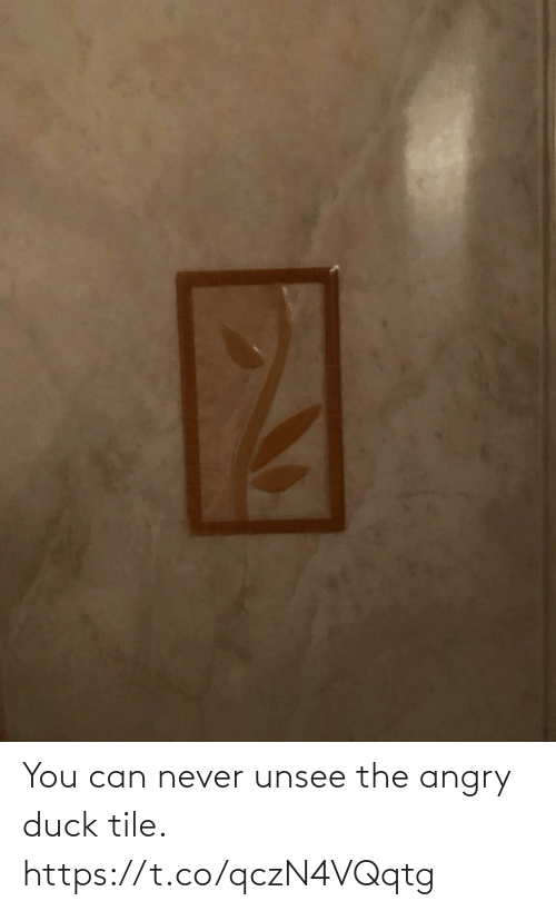 You Can: You can never unsee the angry duck tile. https://t.co/qczN4VQqtg