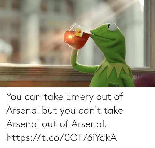 Arsenal: You can take Emery out of Arsenal but you can't take Arsenal out of Arsenal. https://t.co/0OT76iYqkA