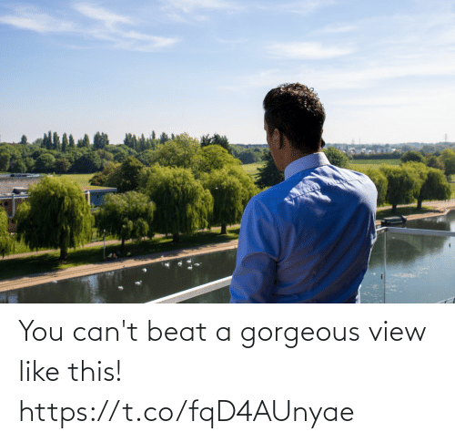 beat: You can't beat a gorgeous view like this! https://t.co/fqD4AUnyae