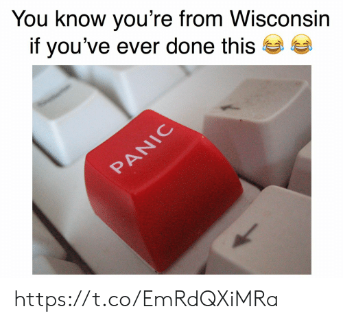 Know Youre: You know you're from Wisconsin  if you've ever done this  PANIC https://t.co/EmRdQXiMRa