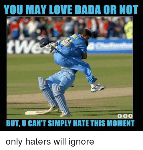 Memes, Dada, and 🤖: YOU MAY LOVE DADA OR NOT  BUT, UCANTSIMPLY HATE THIS MOMENT only haters will ignore