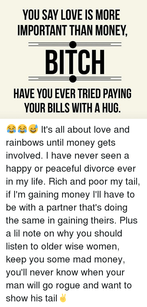 love is more than money