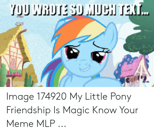 🅱️ 25+ Best Memes About Know Your Meme Mlp | Know Your