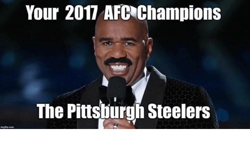 Pittsburgh Steeler: Your 2017 AFC Champions  The Pittsburgh Steelers