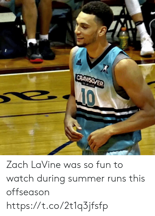 Memes, Zach LaVine, and Summer: Zach LaVine was so fun to watch during summer runs this offseason https://t.co/2t1q3jfsfp