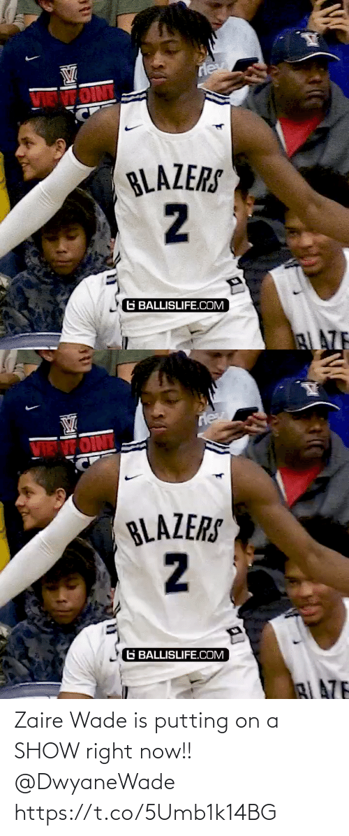 show: Zaire Wade is putting on a SHOW right now!! @DwyaneWade https://t.co/5Umb1k14BG