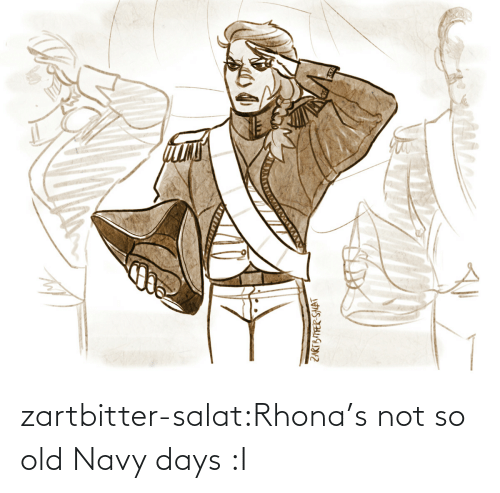So Old: zartbitter-salat:Rhona's not so old Navy days :I
