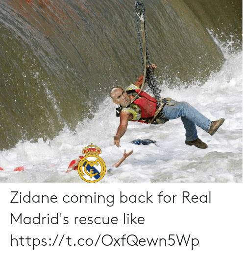 Memes, Back, and 🤖: Zidane coming back for Real Madrid's rescue like https://t.co/OxfQewn5Wp