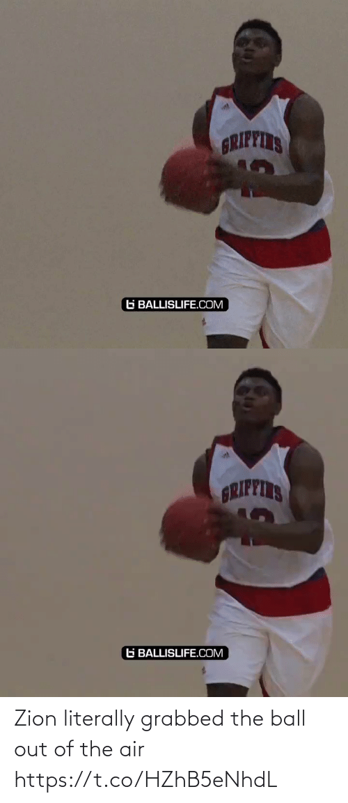 air: Zion literally grabbed the ball out of the air https://t.co/HZhB5eNhdL