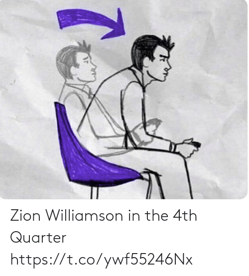 ballmemes.com: Zion Williamson in the 4th Quarter https://t.co/ywf55246Nx